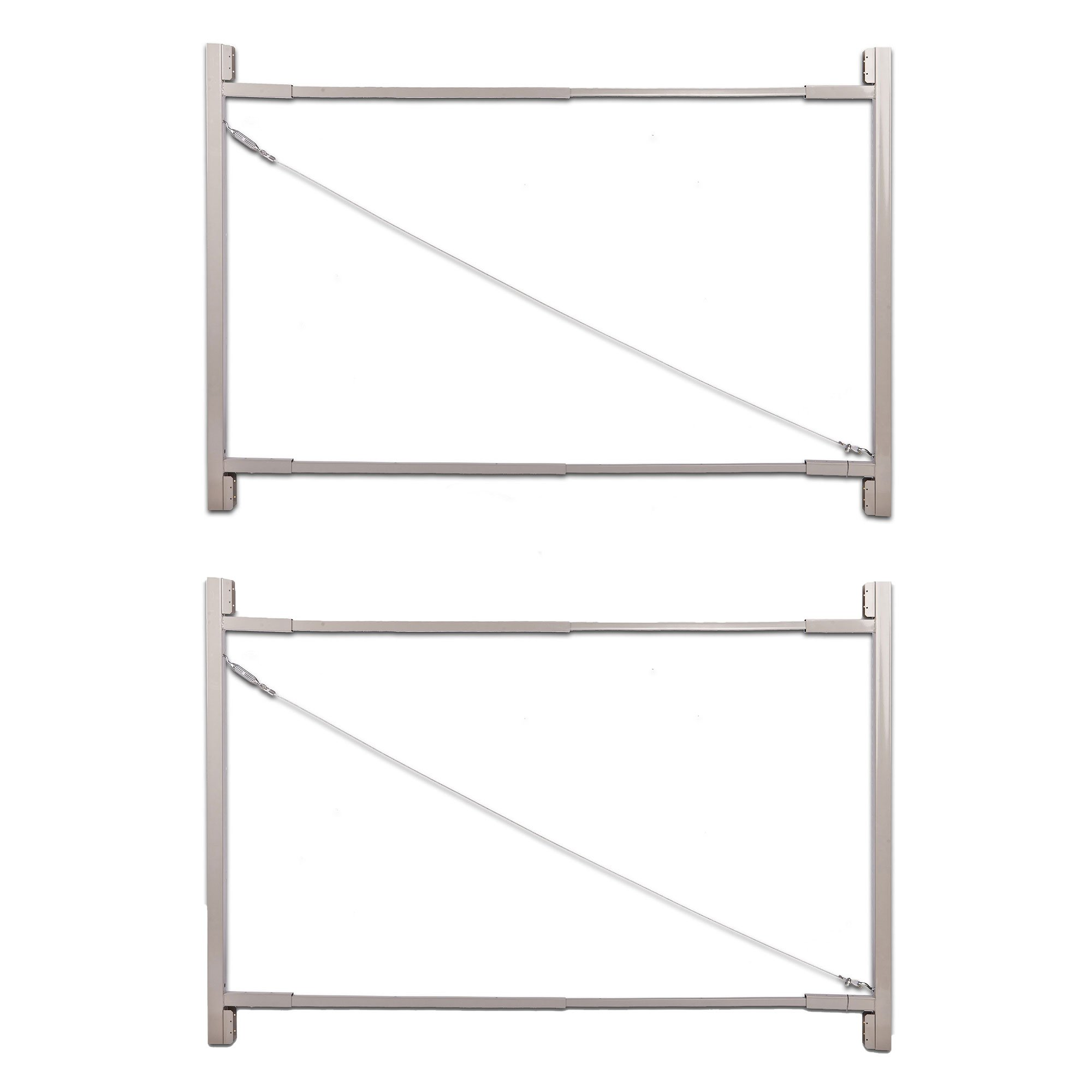 Adjust-A-Gate Gate Building Kit, 36''-72'' Wide Opening Up to 6' High (2 Pack)