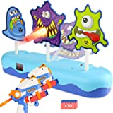 EKOOS Monster Shooting Target for Nerf Electronic Scoring Auto Reset Digital Targets, Ideal Gift Toy Guns for Kids Boys & Gir