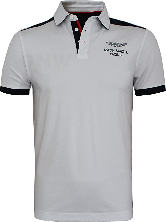 Hackett Aston Martin Racing Moto Polo à é
