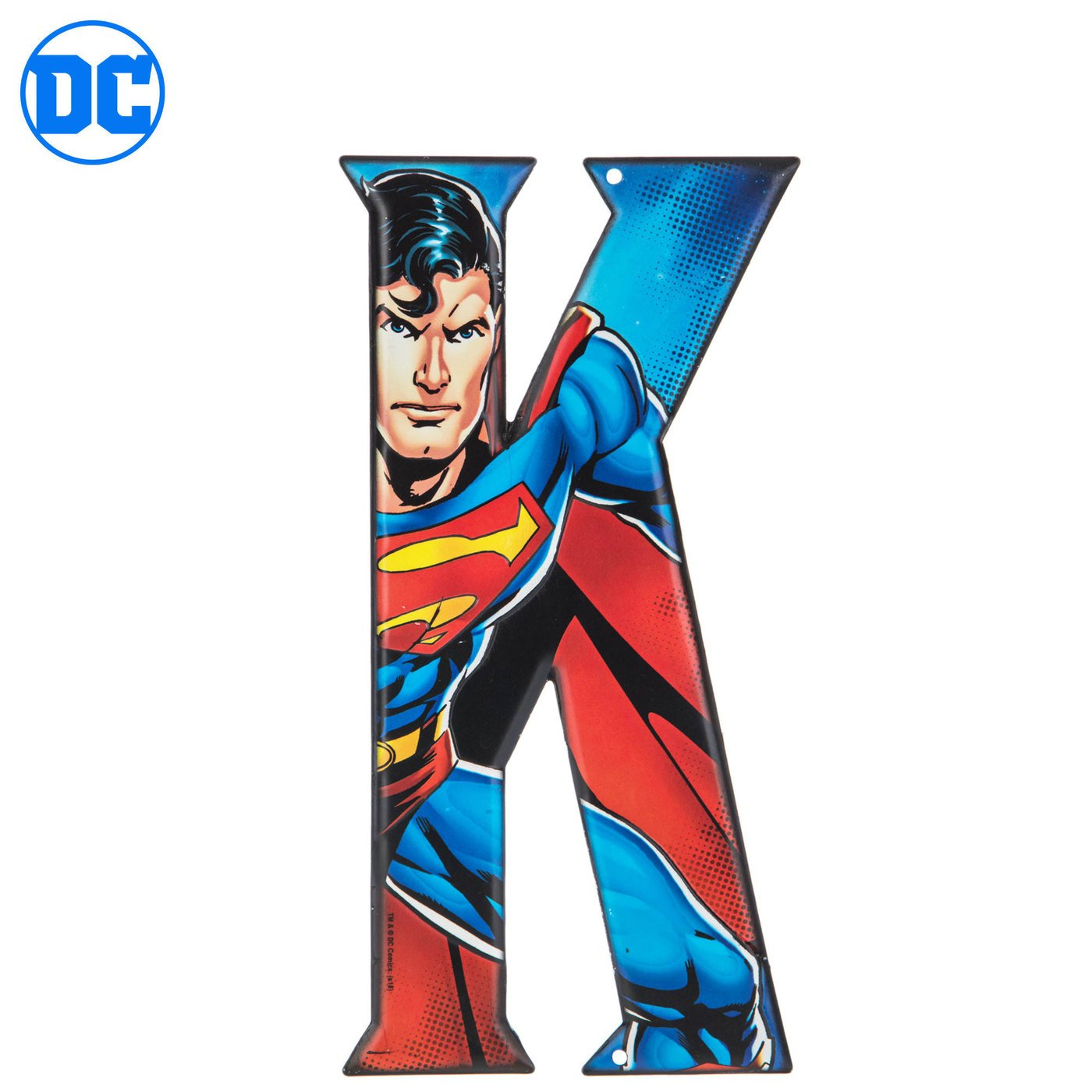 A Superhero Letter Metal Wall Decor Marvel And Dc Comic Letters Decorative Signs Plaques Home Kitchen