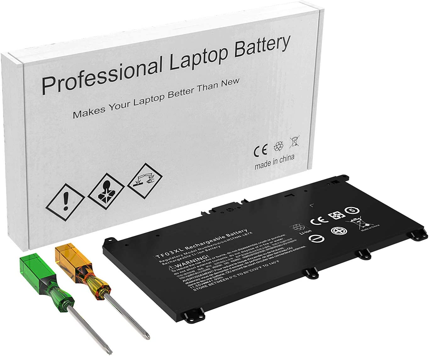 Replacement TF03XL 920046-421 Battery for HP Pavilion 15-CD 15-CC Series 15-cd040wm 15-cc055od 15-cc060wm 15-cc154cl 17-ar050wm HSTNN-IB7Y HSTNN-LB7J 920070-855