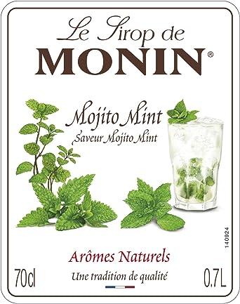 Monin Mojito (sin alcohol) - 700 ml (el embalaje puede variar)