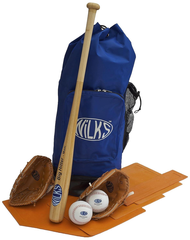 Wilks Active - Set de sófbol (90 cm), azul