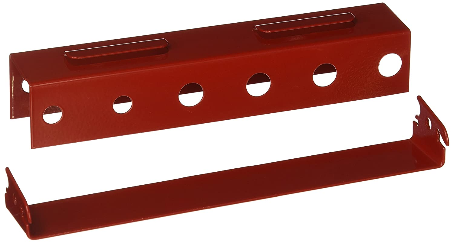 Wall Control ASM-SD-008 R Pegboard Screwdriver Holder Bracket Slotted Metal Pegboard Accessory for Wall Control Pegboard Only, Red