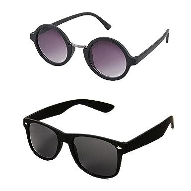 c8dbf94179 Aventus Wayfarer Round Sunglasses for men stylish latest goggles combo