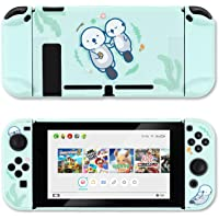 GeekShare Protective Case Slim Cover Case for Nintendo Switch and Joy Con - Shock-Absorption and Anti-Scratch (Sea Otter…