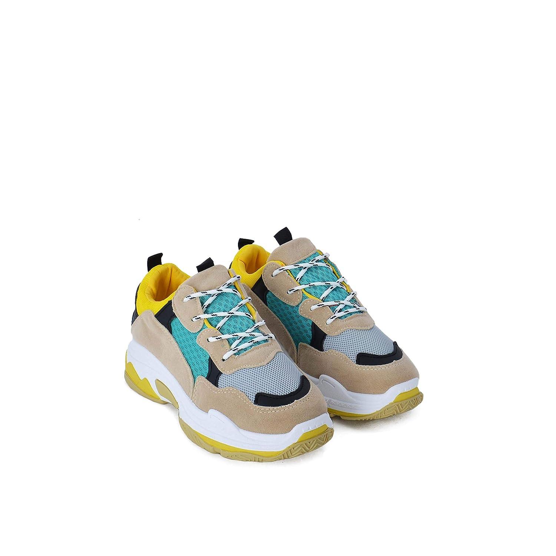 Rebajas Zapatillas de Mujer Sneakers Estilo Urbano: Amazon.es: Zapatos y complementos