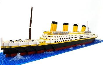 Brigamo Barco Titanic Ladrillos, 1860 piezas, 50 cm de largo ...