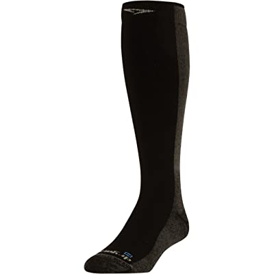 .com : Drymax Cold Weather Running Over the Calf, Black : Clothing