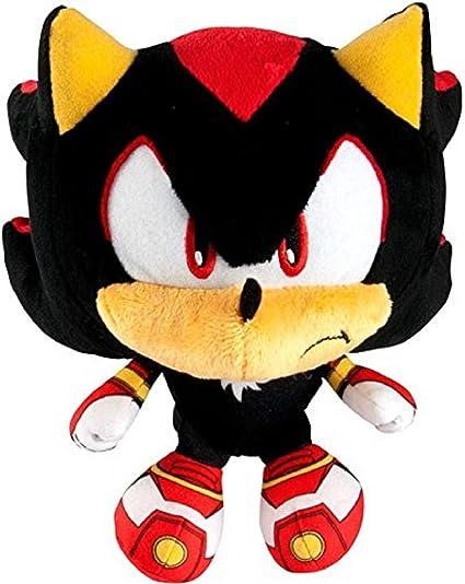 Amazon Com Sonic The Hedgehog Sonic Boom Shadow Super Deformed 6 Plush Toys Games