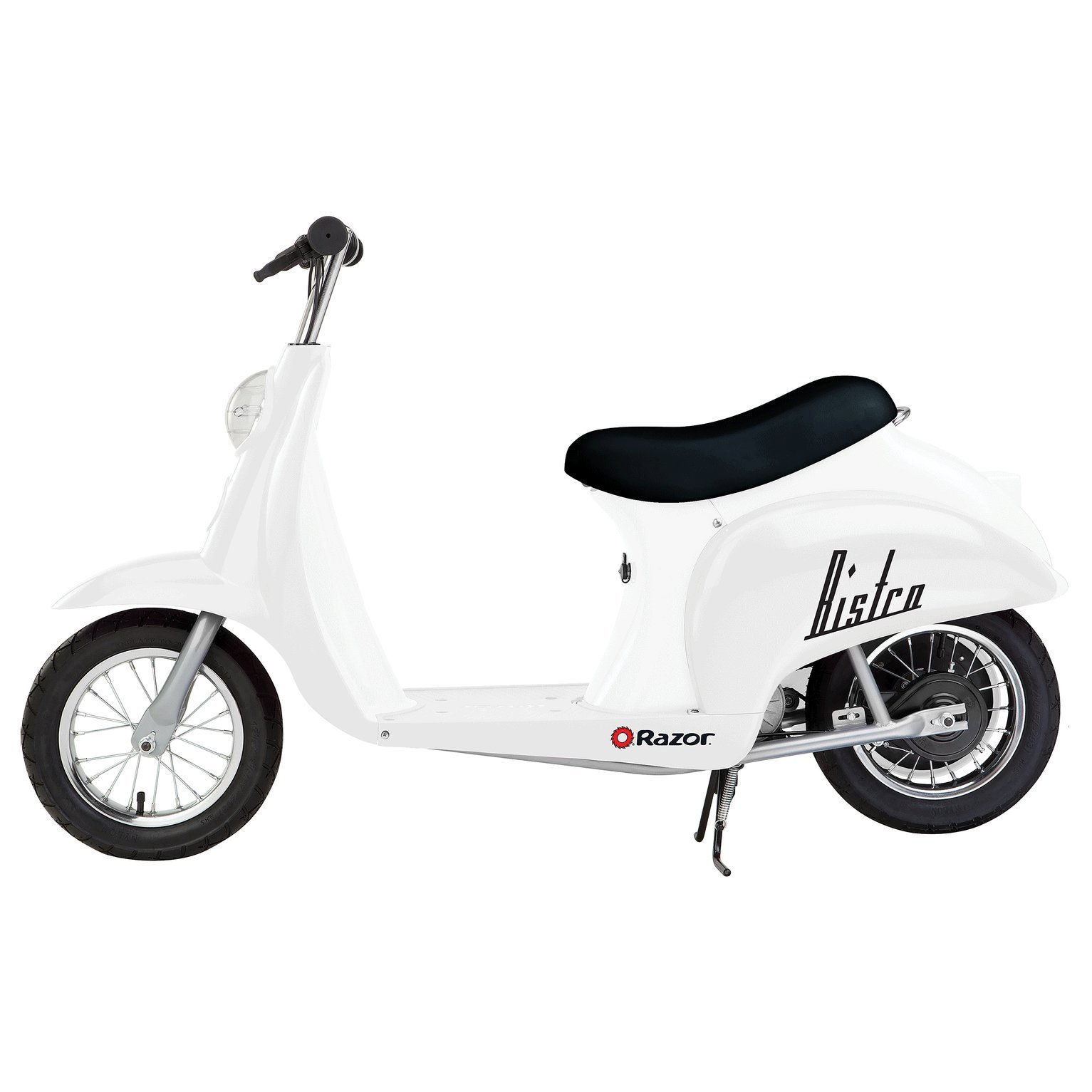 Razor Pocket Mod Miniature Euro 24V 250W Electric Retro Kids Scooter & Helmet