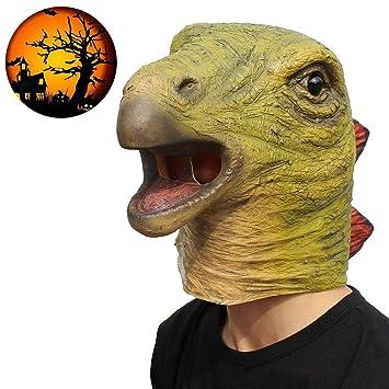 Novela Máscara De Halloween, Máscara De Cabeza De Dinosaurio, Máscara De Cabeza De Animal