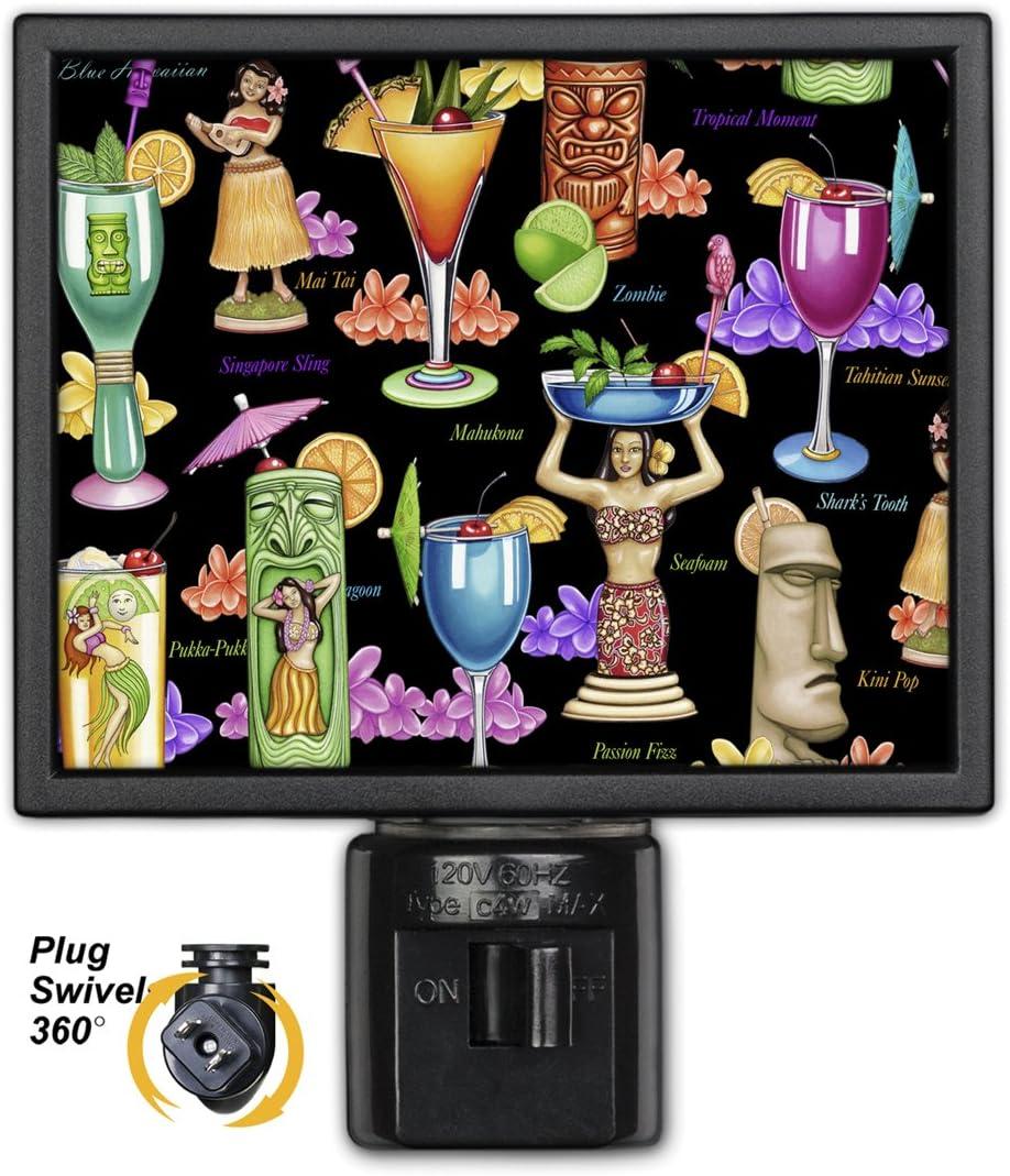 Art Plates NL-3210 Tropical Drinks Night Light