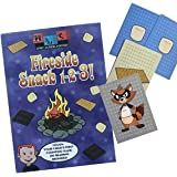 Home Learning Company Fireside Snack 1-2-3. The Camping Card Game for The Entire Family. Great Gift for Toddlers, Preschoolers and Campers.