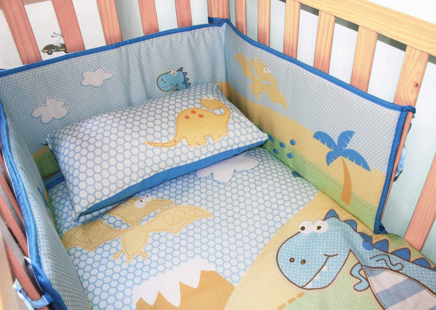 algod/ón acolchado protector para bordes 180 x 30 Gris ropa camas de beb/é protector de cuna 120x60 bebe chichoneras cuna 60x120 chichonera cuna