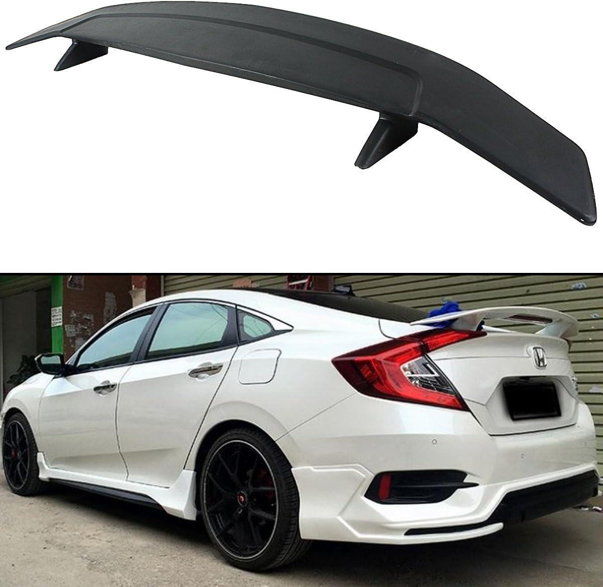 For Honda Civic 12 EX SI 4DR Sedan Front Bumper Lower Lip Spoiler ...