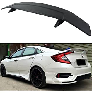 Cuztom Tuning for 2016-2018 Honda Civic X 10TH GEN RS Si Style Rear Trunk