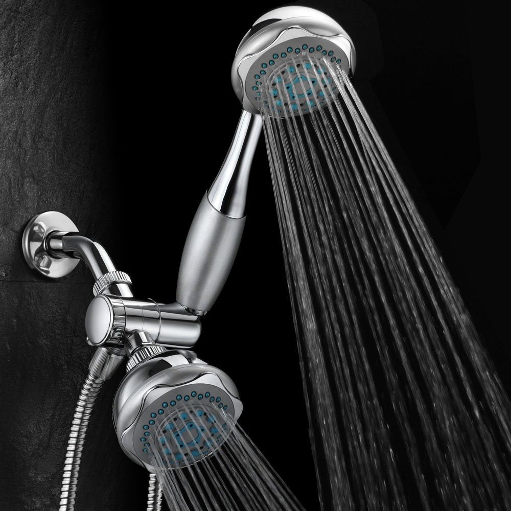 Hydroluxe 24-setting 3-way Shower Combo, Chrome, Single - - Amazon.com