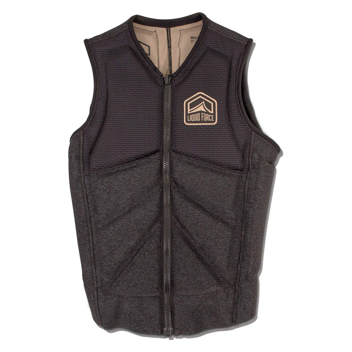 Liquid Force 2019 Z-Cardigan (Black) Comp Vest-Small by Liquid Force