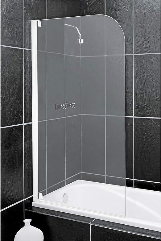 Argos Home - Mampara de baño y ducha con marco medio y radio ...