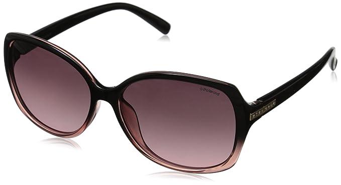 4d0dbf22185 Polaroid Polarized Rectangular Women s Sunglasses - (PLD 5011 S LKU 58JR