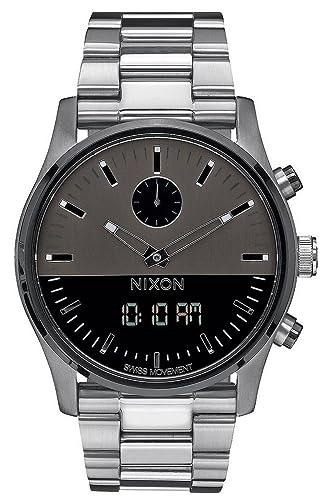 Nixon Duo Analog Reloj digital para hombre A932 - 131: Amazon.es: Relojes