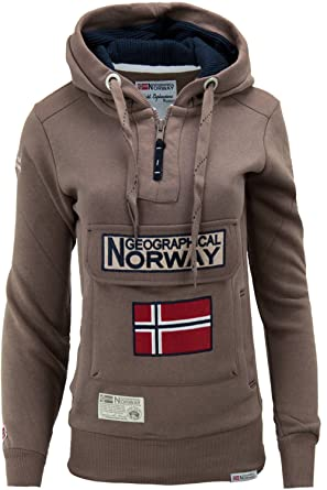 Geographical Norway Felpa GymClass Donna Woman tascone Half