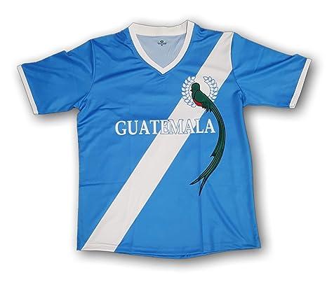 26f2e275c34f6 Amazon.com : Arza Sports Guatemala Men's Soccer Jersey with Quetzal ...