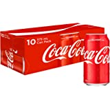 Coca-Cola Classic Soft Drink Multipack Cans 10 x 375 mL