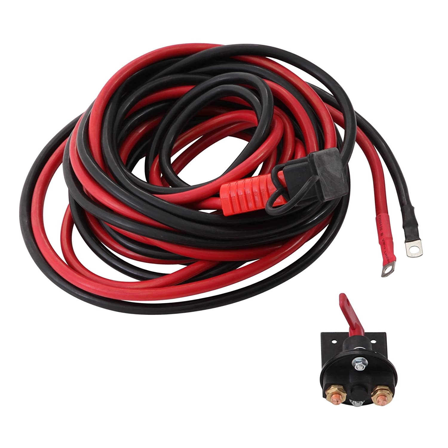 Smittybilt 35210 24 Winch Connector Kit Wiring A Utility Trailer With Four Way Plug Moreover Products Automotive
