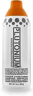 product image for PLUTONIUM Paint Ultra Supreme Professional Aerosol Spray Paint, 12-Ounce, Pumpkin Orange