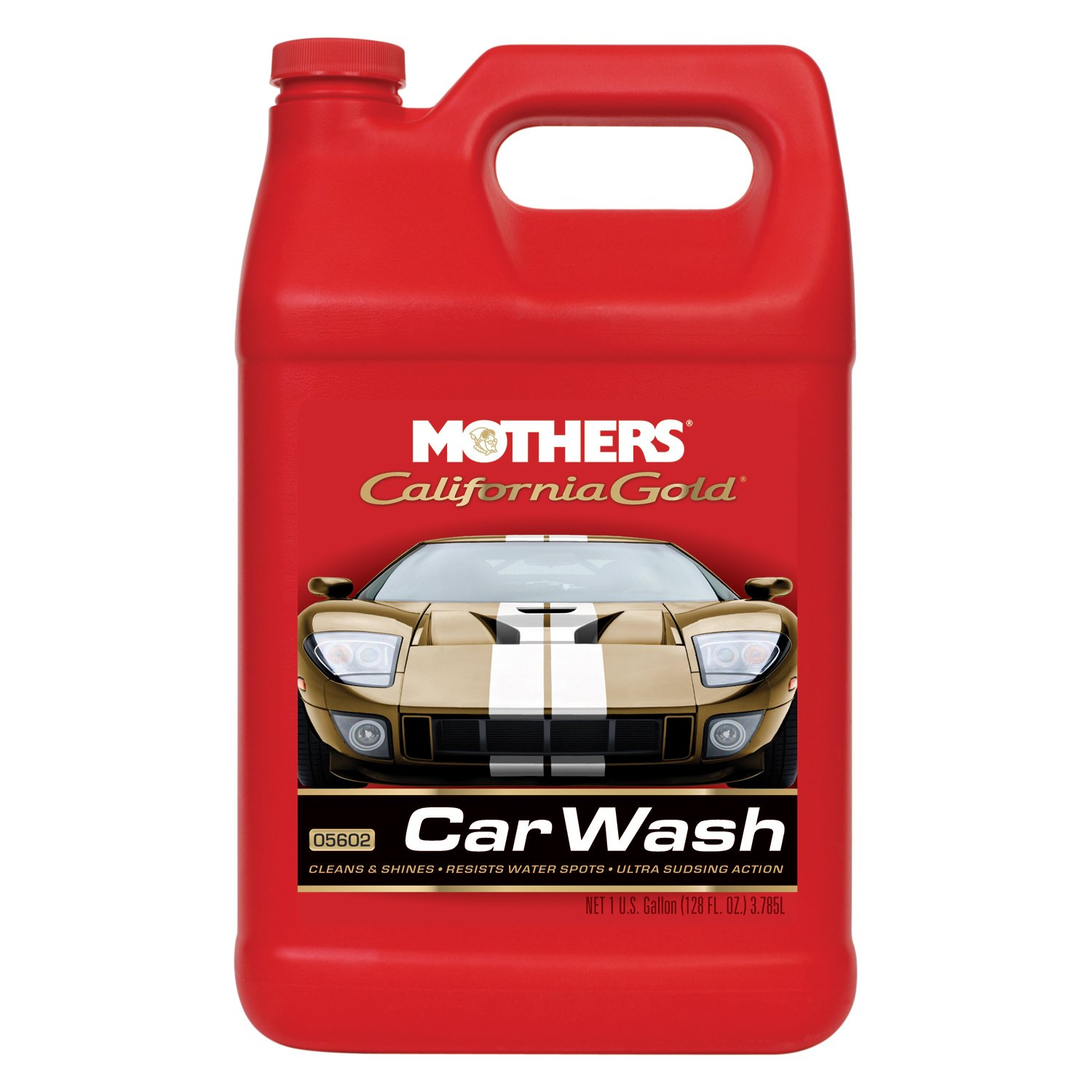 Mothers 05602-4 California Gold Car Wash - 1 Gallon, (Pack of 4)