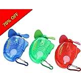SKNBC Carabiner Water Misting Fan Portable Mini Fan 3 Piece Set