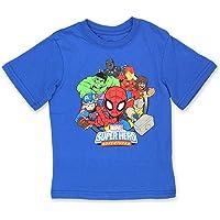 Marvel Super Hero Adventures Boys Short Sleeve T-Shirt Tee