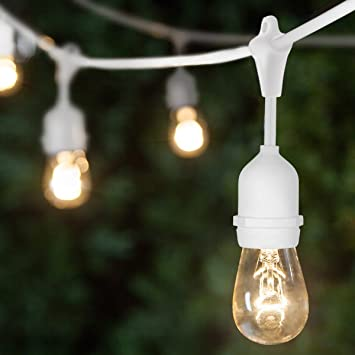 Commercial String Lights Outdoor Amazon s14 durable outdoor string lights commercial string s14 durable outdoor string lights commercial string outdoor lights outdoor wedding lights patio lights workwithnaturefo