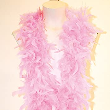 Feather Boa 1.8m Long Red and White Fancy Dress Christmas
