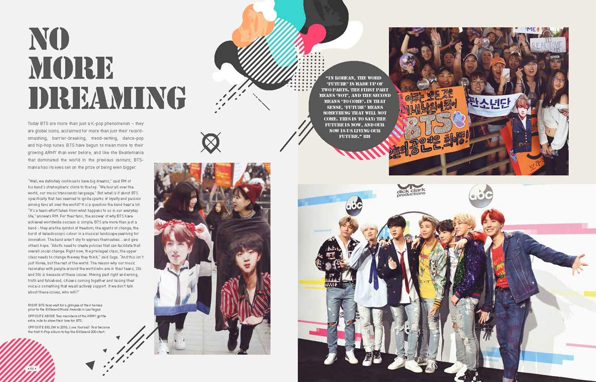 Amazon com: BTS: The Ultimate Fan Book: Experience the K-Pop
