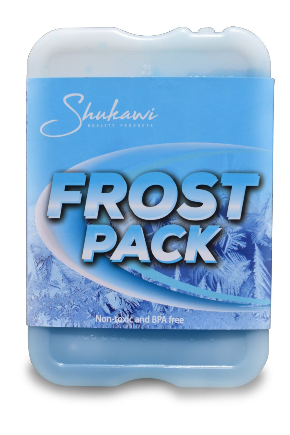 Cold Fresh Slim Ice Packs - Thin Long Lasting Reusable Ice Packs, Great Food Saver used in Lunch Boxes & Coolers Storing Food, Keeps Your Lunch Chilled, and Tasty (Set of 4) Frost Packs by Shukawi Quality Products (Image #3)