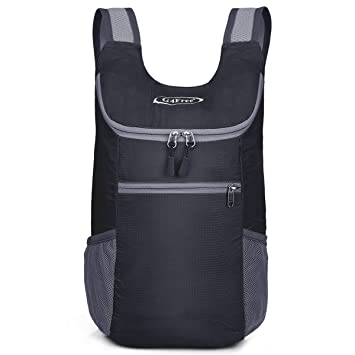 G4Free Unisex Ultra Lightweight Small Foldable Backpack Packable Rucksack  for Travelling Walking Cycling Hiking or Multipurpose a6f80b992d438