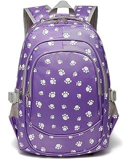 7814337208e1 Girls Backpacks for Kindergarten Kids Toddler Preschool School Bags Durable  Bookbags for Little Girls 15 Inch