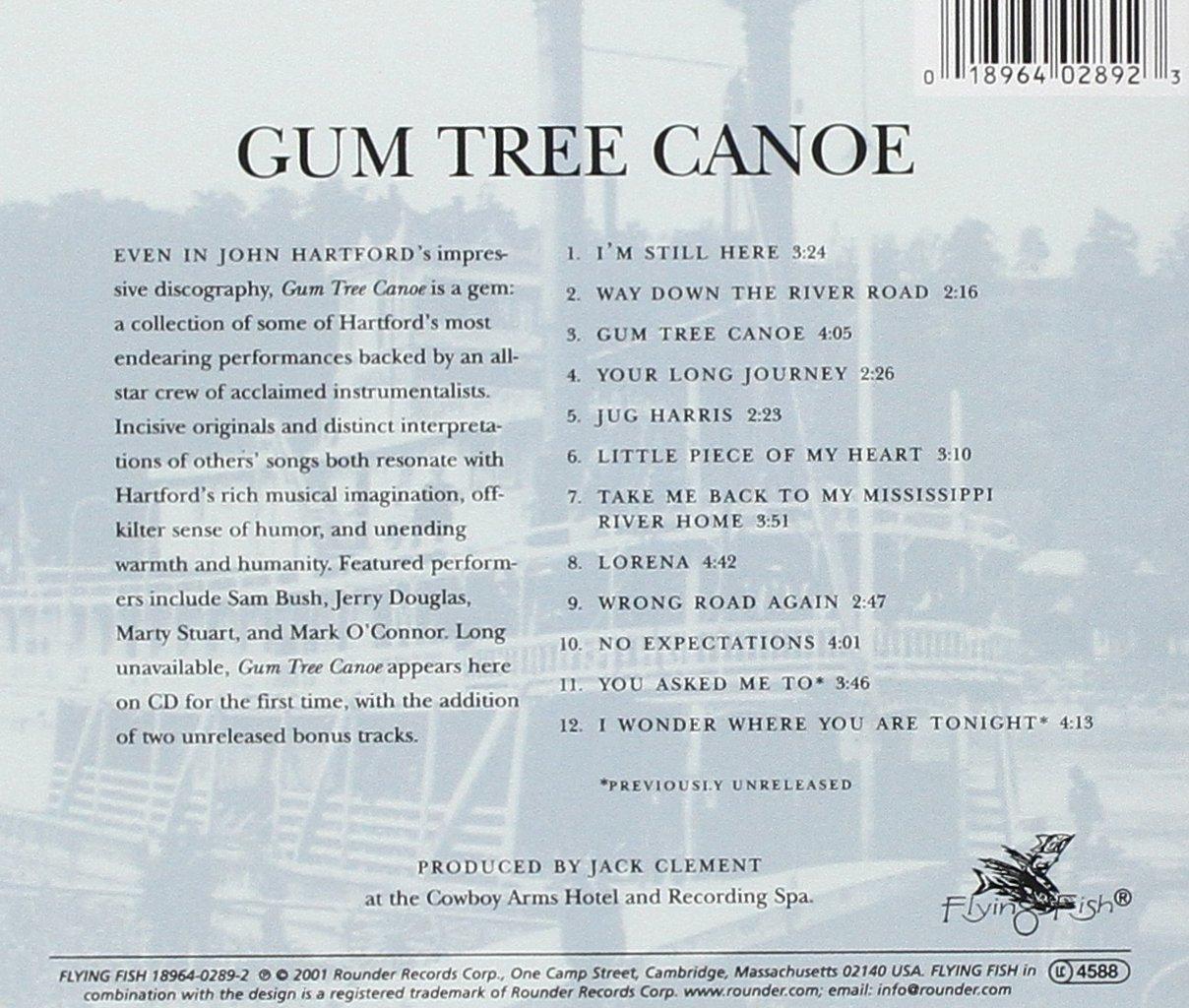 Gum Tree Canoe