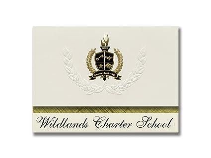 Signature Announcements Wildlands Charter School (Augusta, WI) Graduation  Announcements, Presidential Style,