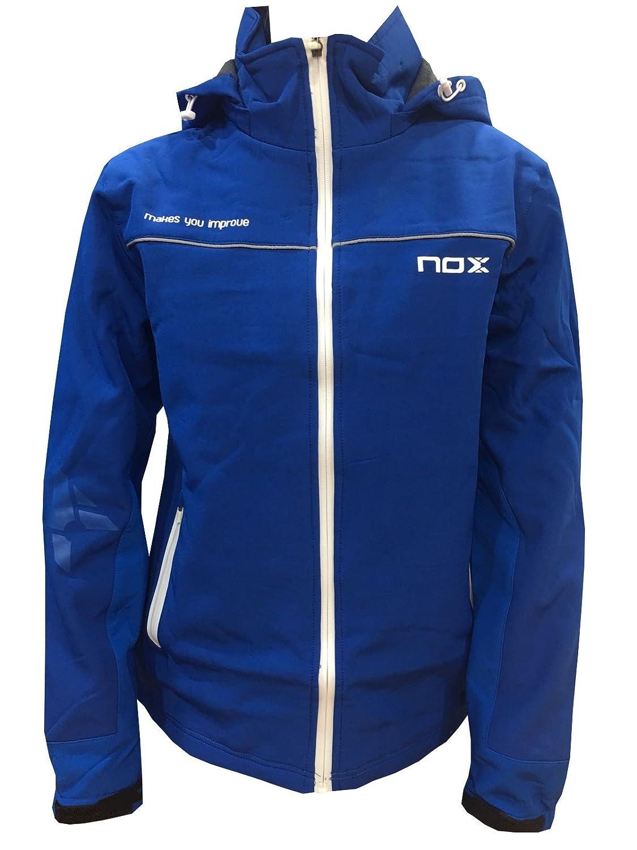 Chaqueta Padel Nox Hombre Azul-L: Amazon.es: Deportes y aire libre