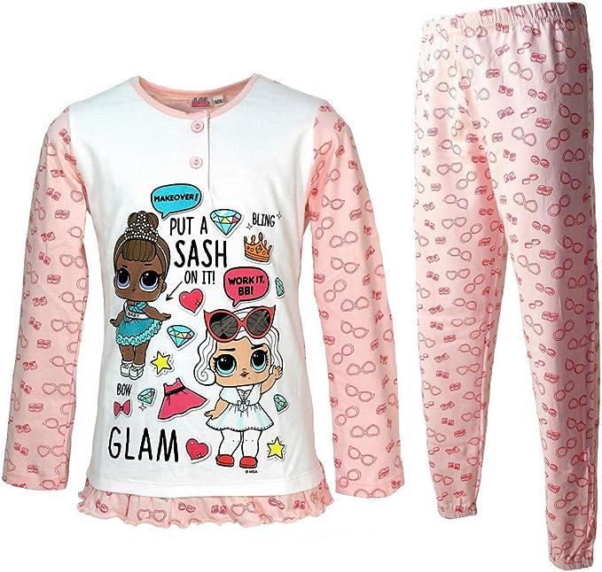 LOL SURPRISE Pijama niña original manga larga fresco algodón ...