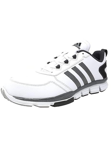 check out 5057b a50be Adidas Speed Trainer 2 Hombre US 11 Blanco Zapatos Deportivos  Amazon.es   Zapatos y complementos