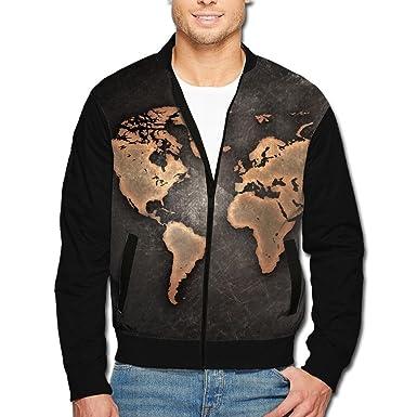 Amazon scooly grunge world map men long sleeve full zip jacket scooly grunge world map menyouth long sleeve full zip jacket small gumiabroncs Images