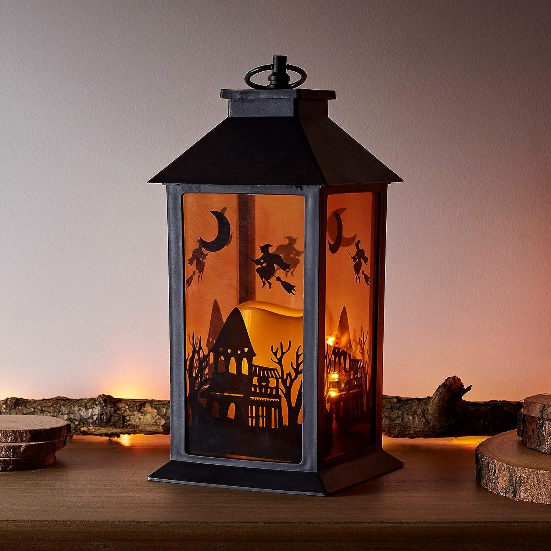 2pcs Halloween Lanterns Delicate Light Lantern Decorations for Outdoors