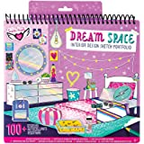 Fashion Angels Interior Design Sketch Portfolio 11510 Full Size Sketch Book, Coloring & Activity Book
