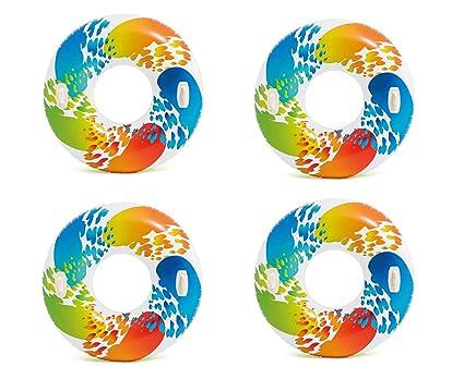 Amazon.com: Intex hinchable color Whirl Tubo Natación ...