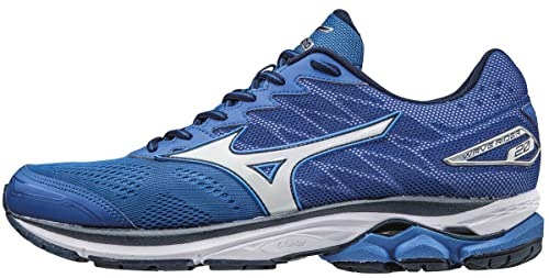 Mizuno Wave Rider 20, Zapatillas de Running para Hombre, Azul (Nautical Blue/White/Dress Blues), 46.5 EU: Amazon.es: Zapatos y complementos